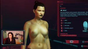Порнозвезда Саша Грей попыталась создать себя в компьютерной игре Cyberpunk 2077