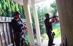 Появилось видео перестрелки экс-баскетболиста «Химок» с полицией. Его нашли мертвым в доме