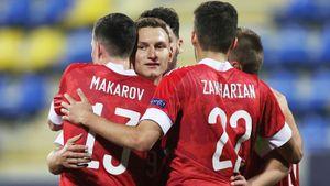 Россия разгромила Исландию в первом матче на молодежном Евро! Команда Галактионова забила четыре. Как это было
