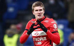 «Спартак» назвал Соболева одним из лучших форвардов Европы. Его статистика лучше, чем у Месси, Роналду и Холанда