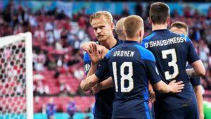 Финляндия одержала историческую победу на дебютном Евро, одолев Данию. Как это было