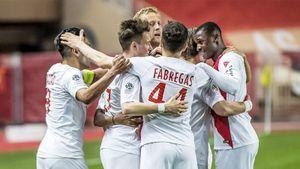 «Монако» отыгрался с 0:2. У Фалькао дубль, у Головина — голевая