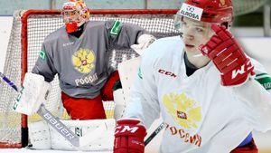 У России очень крутая молодежная сборная. Почти полсотни хоккеистов будут биться за путевку на МЧМ