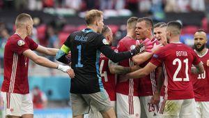 Огненный матч Франции и Венгрии. Из-за жары венгры потеряли капитана, но едва не грохнули чемпионов мира
