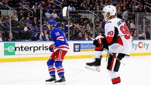 Русского форварда слили вхудший клуб НХЛ, аоннеожиданно расцвел. Наместников кайфует в«Оттаве»