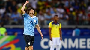 Самые красивые гол и автогол Кубка Америки уже забиты. Суарес и Кавани уничтожили Эквадор