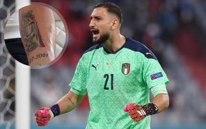 Доннарумма сделал татуировку в честь победы на Евро-2020