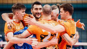 У «Кузбасса» первая победа в Лиге чемпионов. Спасли первую партию в Бельгии с сетбола и победили «Кнак» — 3:0