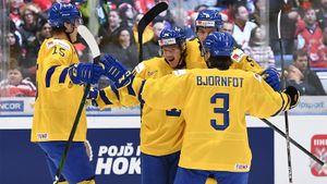 Шведские вундеркинды выбили Чехию сМЧМ. Вполуфинале Россия сыграет срекордсменом турнира