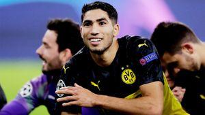 Хакими гоняет пополю соскоростью 36 км/ч. Летом марокканец вернется в«Реал»
