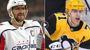 «Вся Россия стобой!» Действующие русские хоккеисты НХЛ желают Овечкину побить рекорд Гретцки: видео