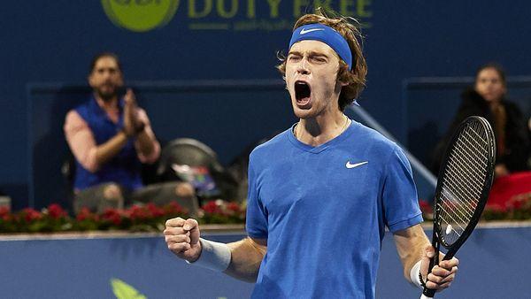 Рублев— лучший теннисист России прямо сейчас. Выиграл 2-й титул подряд иобошел Хачанова врейтинге