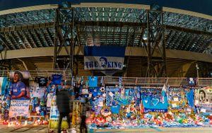 Стадион «Наполи» официально переименовали в честь Марадоны