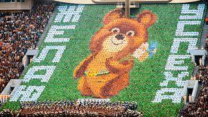 40 лет назад в Москве открыли Олимпиаду-80. Это было дешево и просто, но так завораживающе: фото