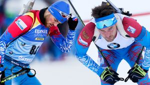 Русским биатлонистам повезло — они выступят на стартовом этапе Кубка мира. Отстранили только Бабикова и Гараничева