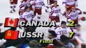 Сборная СССР разгромила Канаду на Аляске. В главной игре МЧМ-89 наши забили 7 голов, у Могильного — хет-трик: видео