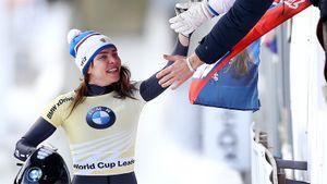 Скелетонистка Никитина стала трехкратной чемпионкой Европы. Через 2 недели она будет штурмовать мир