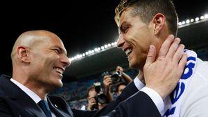 Зидан отреагировал на слухи о возможном возвращении Роналду в «Реал»