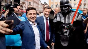 Зеленский заявил об амбициях провести на Украине Олимпиаду