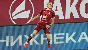 Он оставил «Спартак» без очков в 1-м туре РПЛ. Интервью Самошникова— возможно, самого быстрого футболиста России