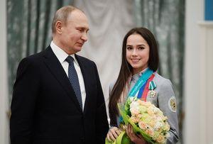 «Добиваются ошеломляющих результатов». Путин рассказал освоем отношении кфигурному катанию