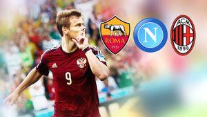 Кокорина зовут три итальянских топ-клуба. Что уних сфорвардами икуда лучше переходить
