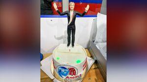 Плющенко поблагодарил за поздравления с днем рождения: «Счастлив, что у меня столько друзей»