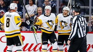 Малкин сломался, а«Питтсбург» начал крушить всех подряд. «Пингвины» забросили 14 шайб зауикенд