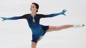 Видео проката Щербаковой с личным рекордом в короткой программе на командном чемпионате мира в Японии