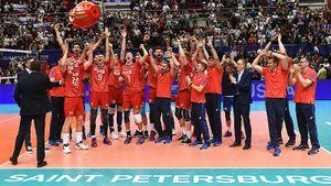 Русские волейболисты едут на Олимпиаду. Они не проиграли ни сета в квалификации