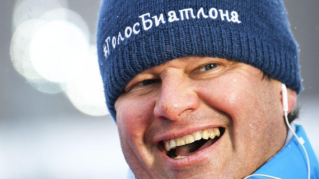 Видео эмоциональной реакции Губерниева на победу российских биатлонистов в смешанной эстафете в Оберхофе