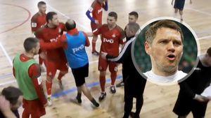 Экс-игрок «Локомотива» Михалик устроил драку на футзальном турнире