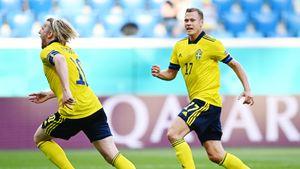 Гол Форсберга принес сборной Швеции победу над Словакией в матче Евро-2020