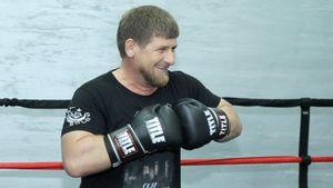 Рамзан Кадыров провел спарринг с бойцом UFC Чимаевым: видео
