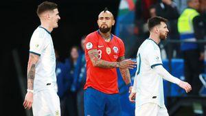 Месси удалили, ноАргентина обыграла Чили вматче забронзу Копа Америка. Как это было