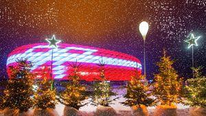 Рождественский перфоманс «Баварии»: 10 атмосферных кадров, которые подарят вам новогоднее настроение