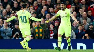 «Барселона» победила вМанчестере, «Ювентус» устоял вАмстердаме. Как это было