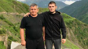 «Хабиб уже заработал достаточно денег». Отец Нурмагомедова— про Порье, помощь Путина ибой вМоскве