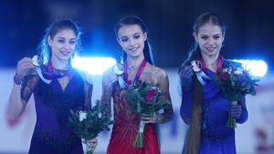Стало известно, сколько Щербакова, Косторная и Трусова могут получить за медали чемпионата Европы