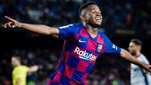 17-летний вундеркинд «Барселоны» забил 2 гола за100 секунд. Оба раза— между ног вратарю: видео