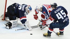 Еще 2 команды КХЛ вышли во2-й раунд плей-офф без поражений. НониЦСКА, ни«АкБарсу» небыло легко