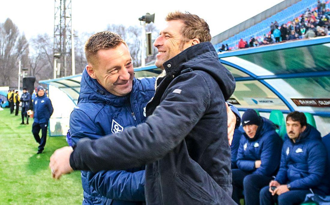 Андрей Тихонов и Массимо Каррера