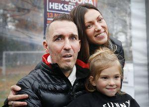 «Он плакал». Жена смертельно больного Риксена — о реакции футболиста на граффити с поддержкой
