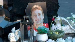 В Ярославле разгромили памятник погибшему игроку «Локомотива» Ивану Ткаченко