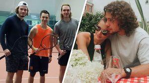 Романтичный Панарин, семейный Гусев и теннисисты-чемпионы из «Тампы». Как дела у русских хоккеистов