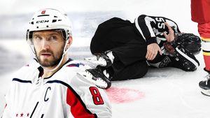 В КХЛ игроков жестко карают за случайные столкновения с судьями. В НХЛ Овечкина за такое простили