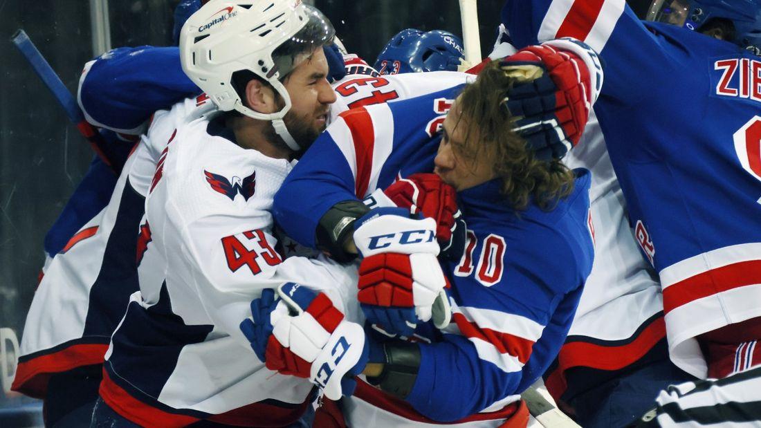 Как близко НХЛ была к смерти на льду! Уилсон пытался травмировать Панарина и пересек черту