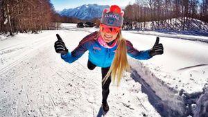 Русской лыжнице Сориной респектует великая Йохауг. Год назад Татьяна родила, а сейчас вторая в мире