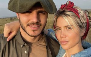 Икарди опубликовал романтичные фото с женой. На днях она обвинила игрока в измене