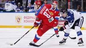 Россия против Финляндии на«Газпром Арене». Главный хоккейный матч декабря. LIVE!